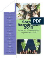 UW FFR Recruitment Brochure 2015
