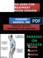 Drugs Used for Treatment Parkinson Disease