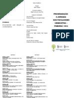 Folder Da II Jornada- Em Construção