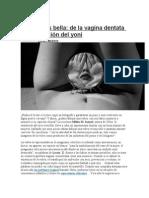 La Vulva Es Bella, De La Vagina Dentata a La Adoración Del Yoni