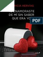 Te Enamoraste de Mí Sin Saber Que Era Yo - Patricia Hervias