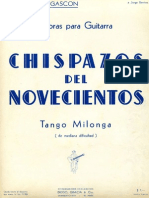 Vicente-Gascon Chispazos Del Noveciento