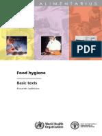 Codex Alimentarius Food Hygiene