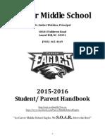 2015-2016 carver student- parent handbook