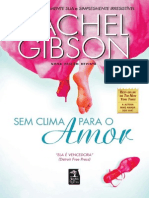 Sem Clima Para o Amor - Rachel Gibson
