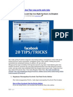 20 Facebook Hack Dan Tips Trick
