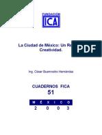 César Buenrostro La Ciudad de México Un Reto a La Creatividad