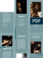 SAXOPHONIST/EDUCATOR Jim Mair Brochure