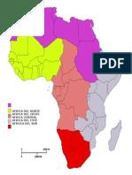 Paises y Capitales de Continente Africano
