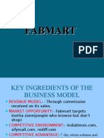 Key Ingredients of the Business Model