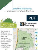 Capitol Hill EcoDistrict Presentation