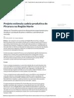 ASN - Projeto Estimula Cadeia Produtiva Do Pirarucu Na Região Norte