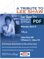 Lee Shaw Poster