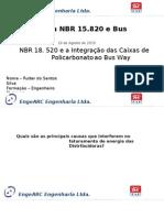 Seminario EngeARC TAF Medidore e Bus Way 19-08-15