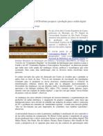 """Grupo """"Rupturas"""" da UCB debate pesquisa e produção para a mídia digital"""
