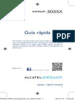 Onetouch 5035 Guía rápida en español