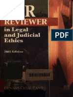 Bar Reviewer on Legal and Judicial Ethics by Cruz-Paño