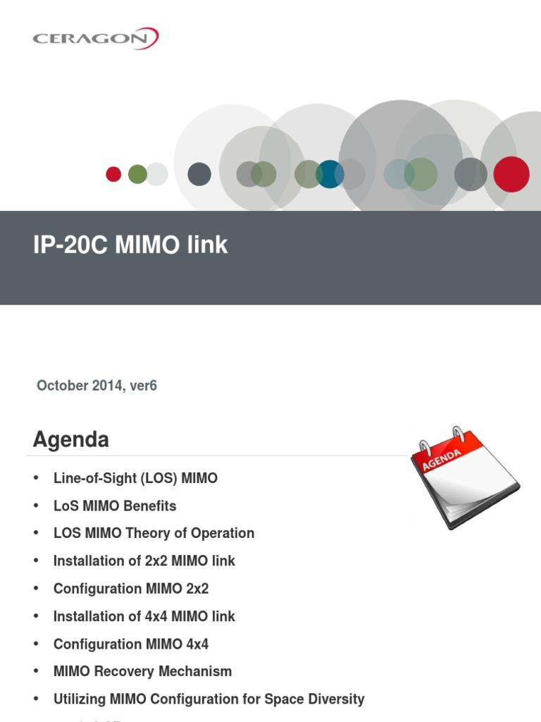 Ip20c Mimo Multiplexing Wiring Diagram