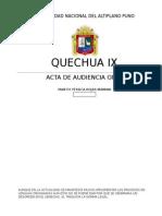 Derecho Quechua Parte i