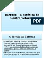 Barroco – a Estética Da Contrarreformajj