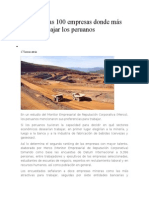 Estas Son Las 100 Empresas Donde Más Desean Trabajar Los Peruanos