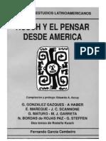 Kusch y el pensar latinoamericano