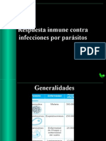 Respuesta Inmune Contra Parasitos
