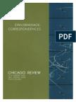 Chicago Review 47(4)-48(1) 2001-2 Stan Brakhage Correspondences