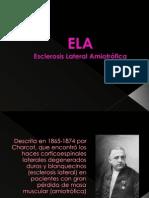 ELA. Esclerosis Lateral Amiotrofica