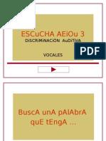 Vocal Inicial y Final SEBASTIAN ARMARIO