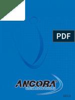 Catalogo ANCORA.