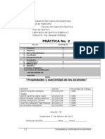 Reporte 2 Organica II
