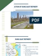 Nhà máy lọc hóa dầu Dung Quất