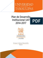Plan Des Arrollo u at 20142017