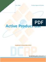DCRP Approval - November 2014