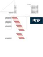 Plantilla Diagrama Gantt Excel