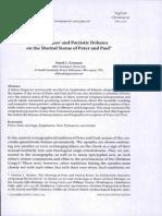 eastman2013 - Epiphanius' and Patristic Debates on the  Marital Status of Peter and Paul.pdf