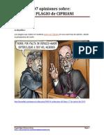 """07 opiniones sobre """"El Plagio de Cipriani"""""""