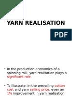 Yarn Realisation