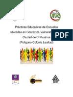Prácticas Educativas de Escuelas Ubicadas en Contextos Vulnerables de La Ciudad de Chihuahua