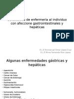 Cuidadados de Enfermería Al Individuo Con Afeccione Gastrointestinales