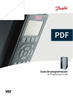 Manual Danfoss Variador