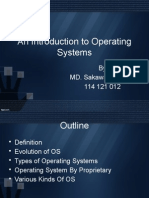 An Introduction to Operating System