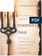 Wittgenstein's Poker. the Story of a Ten-Minute Argument Between Two Great Philosophers. David Edmonds, And John Eidinow