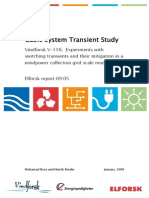 Cable System Transient Study