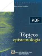 Topicos de Epistemolog¡a. Luis Piscoya