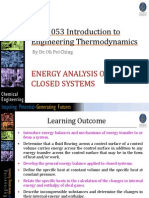 Chapter 4 Energy Analysis of Closed Systems