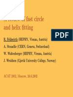 Circle Fitting Algorithm