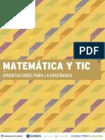Matemáticas y Tic, Orientaciones para la enseñanza