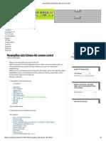 Menampilkan Data Listview Vb6 Common Control
